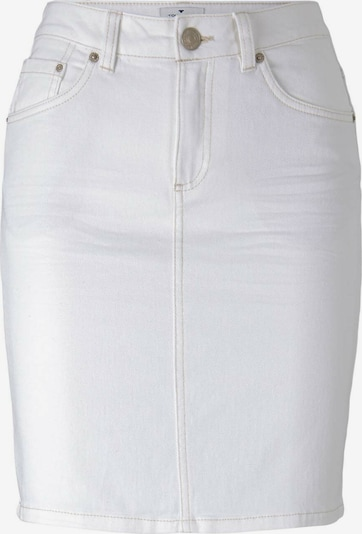 TOM TAILOR Rok in de kleur Wit: Vooraanzicht