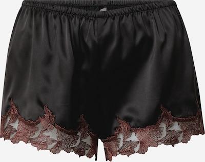 LingaDore Shorts in rot / schwarz, Produktansicht