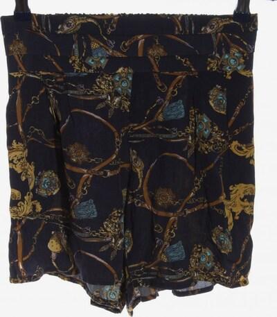 Cotton On High-Waist-Shorts in S in braun / schwarz, Produktansicht