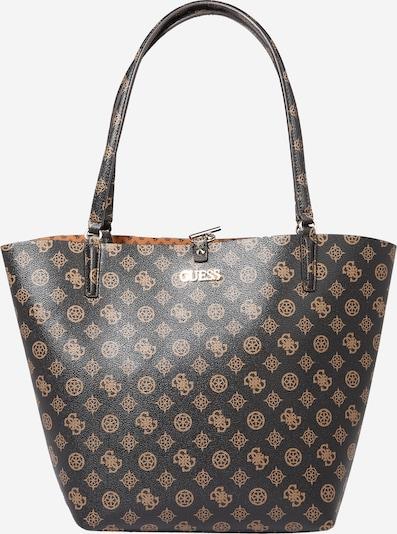 GUESS Shopper 'Peony' in braun / schwarz, Produktansicht