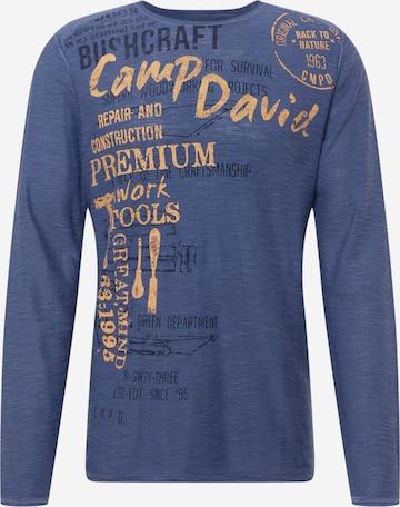 Pull-over CAMP DAVID en bleu