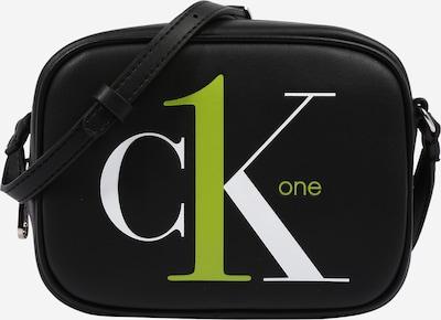 Calvin Klein Tasche in limette / schwarz / weiß, Produktansicht