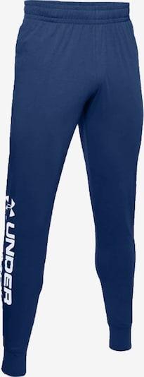 UNDER ARMOUR Hose in blau / weiß, Produktansicht