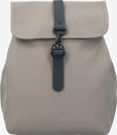 RAINS Backpack 'Bucket' in Light grey / Black, Item view