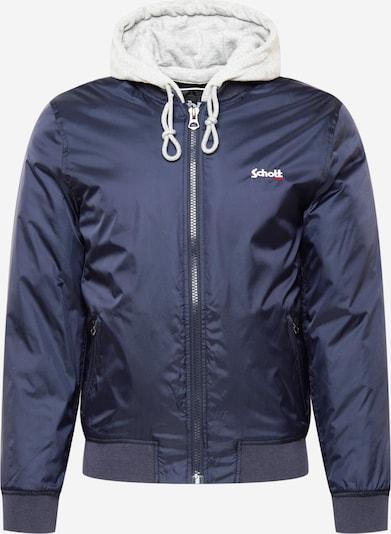 Schott NYC Prechodná bunda 'OREGON' - námornícka modrá / svetlosivá, Produkt
