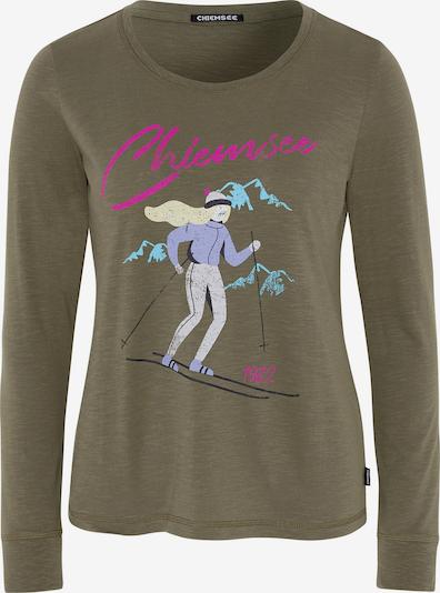 CHIEMSEE Shirt 'Hekla' in oliv / mischfarben, Produktansicht