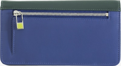 DuDu Portemonnaie 'Canarie' in blau / dunkelgrün / mischfarben, Produktansicht