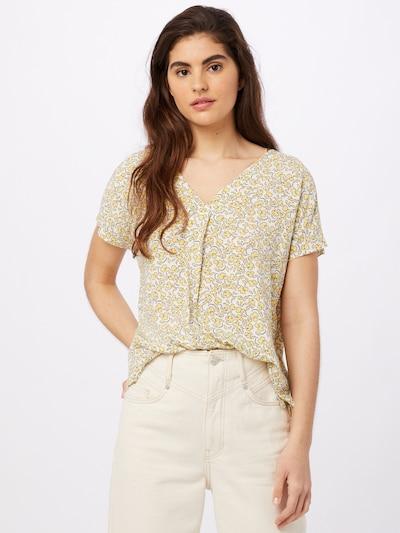 MINE TO FIVE Bluse in gelb / weiß, Modelansicht