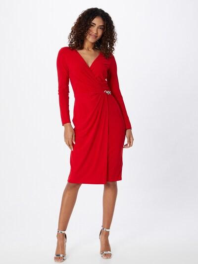 Lauren Ralph Lauren Koktel haljina 'KINA' u crvena: Prednji pogled