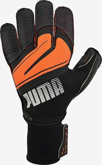 PUMA Gants de sport en orange fluo / noir, Vue avec produit