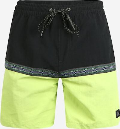 QUIKSILVER Plavecké šortky 'DISRUPTED VOLLEY 17' - svítivě zelená / černá, Produkt