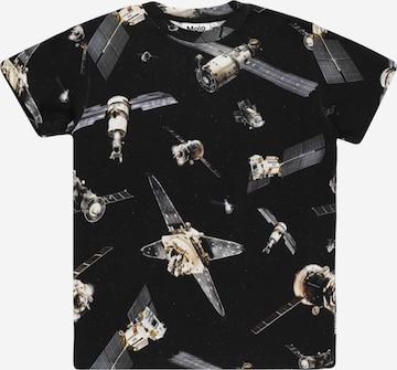 Molo Shirt 'Roxo' in Black