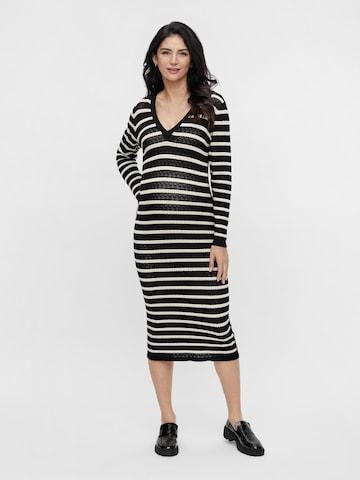 MAMALICIOUS Kleid 'Tiggy' - Čierna