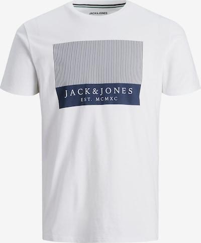 JACK & JONES Shirt 'TROKE' in marine blue / White, Item view