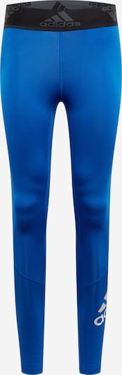 ADIDAS PERFORMANCE Sportbroek 'Alphaskin 2.0' in de kleur Blauw / Zwart, Productweergave
