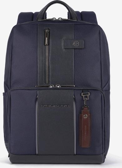 Piquadro Laptoptasche in dunkelblau / braun, Produktansicht