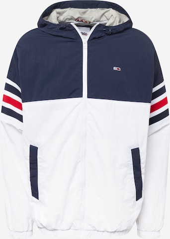 Tommy Jeans Kevad-sügisjope, värv valge