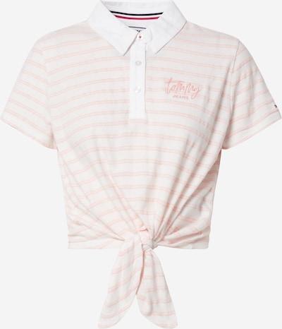 Tommy Jeans T-Shirt 'Summer Tie' in rosa / weiß, Produktansicht