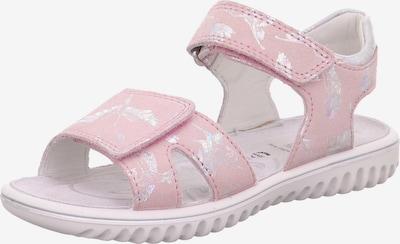 SUPERFIT Sandales 'Sparkle' rožkrāsas / Sudrabs, Preces skats