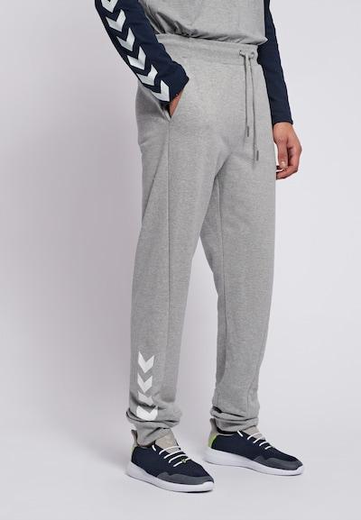 Hummel Pants in grau: Frontalansicht