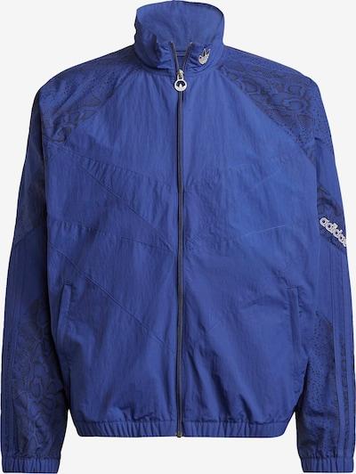 ADIDAS ORIGINALS Jacke in royalblau / schwarz, Produktansicht