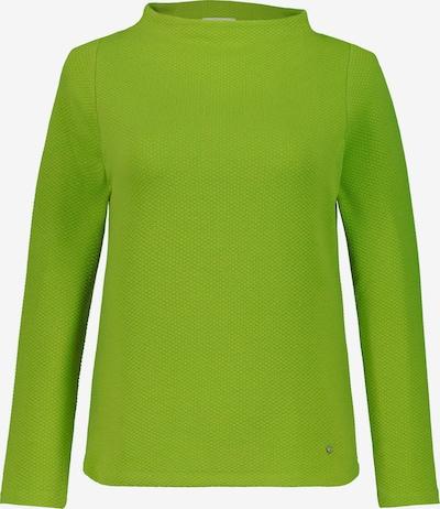 Gina Laura Sweatshirt in neongrün: Frontalansicht