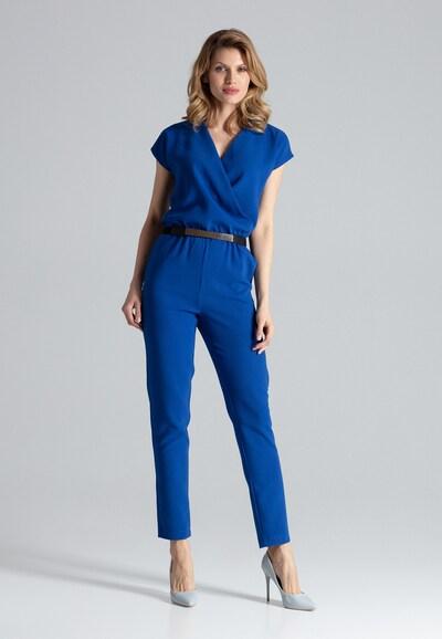 Figl Jumpsuit in blau, Modelansicht