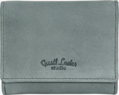 Gusti Leder Portemonnaie 'Hurley' in grau, Produktansicht
