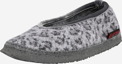 Papuci de casă 'Lauenau' GIESSWEIN pe gri / negru, Vizualizare produs