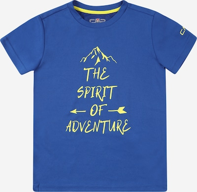 CMP Camiseta funcional en azul oscuro / amarillo, Vista del producto