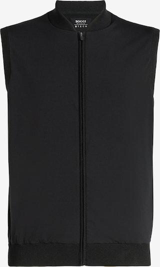 Boggi Milano Weste in schwarz, Produktansicht