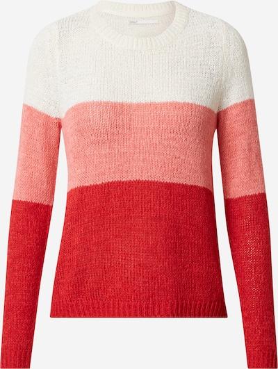 Megztinis 'Geena' iš ONLY , spalva - rožių spalva / raudona / balta, Prekių apžvalga