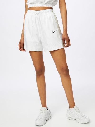 Pantaloni Nike Sportswear pe verde stuf / negru / alb, Vizualizare model