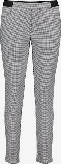 Betty Barclay Slim Fit-Hose mit elastischem Bund in grau / schwarz / weiß, Produktansicht