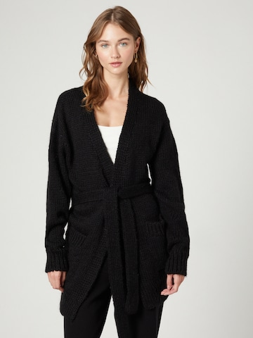 Guido Maria Kretschmer Collection Knit Cardigan 'Mariam' in Black