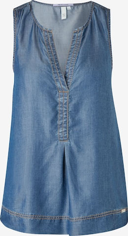 Q/S by s.Oliver Blouse in Blauw