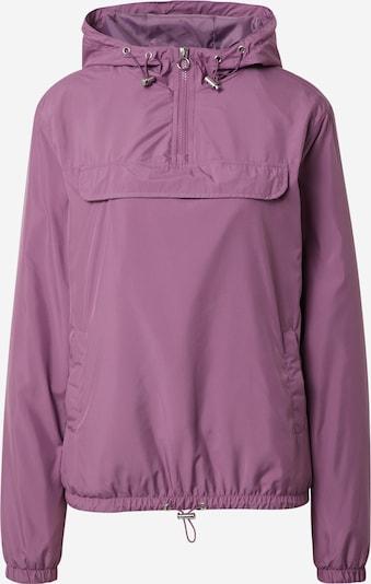 Urban Classics Curvy Jacke 'Ladies Basic Pull Over Jacket' in lila / dunkellila / lilameliert, Produktansicht