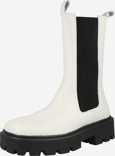 Bianco Chelsea Boots in schwarz / offwhite, Produktansicht