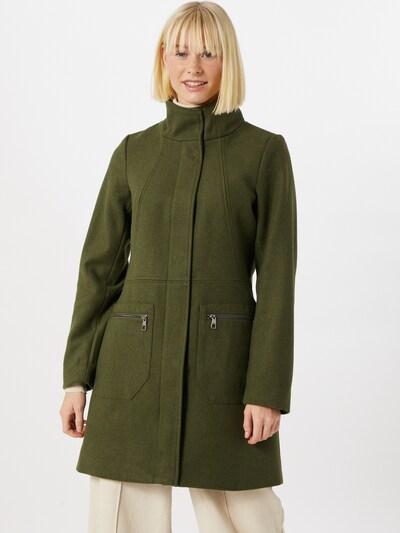 TOM TAILOR DENIM Prechodný kabát - olivová, Model/-ka