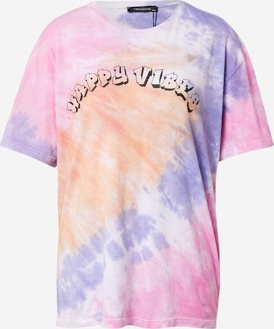 Trendyol Μπλουζάκι σε λιλά / ροδακινί / ροζ / μαύρο / λευκό, Άποψη προϊόντος