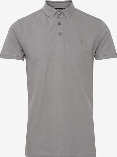 INDICODE JEANS Poloshirt 'REBBERT' in grau, Produktansicht