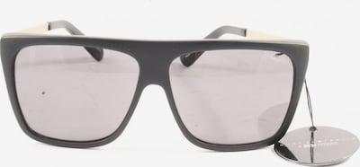 QUAY eckige Sonnenbrille in One Size in gold / schwarz, Produktansicht