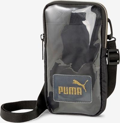 PUMA Umhängetasche in dunkelgelb / schwarz / transparent, Produktansicht