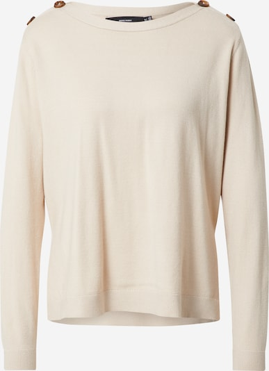 VERO MODA Shirt in de kleur Crème, Productweergave