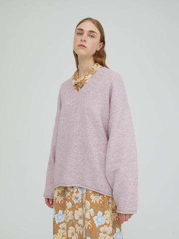 EDITED Sweater 'Aleena' in Purple
