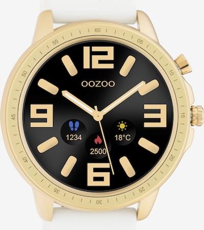 OOZOO Smartwatch in gold / weiß, Produktansicht