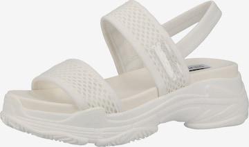 STEVE MADDEN Sandale in Weiß