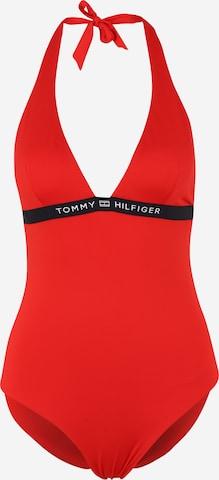 sarkans Tommy Hilfiger Underwear Peldkostīms