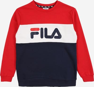 FILA Sweater majica 'CARLOTTA' u morsko plava / crvena / bijela, Pregled proizvoda