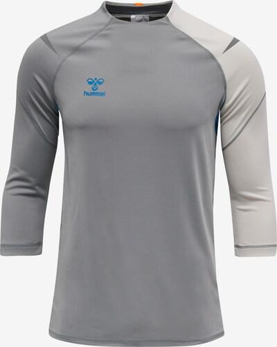 Hummel Shirt in grau / hellgrau, Produktansicht